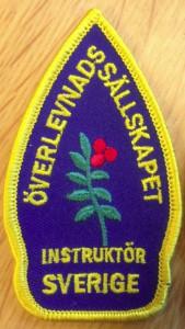 SÖS instruktörsmärke, svenska överlevnadssällskapet,Överlevnadskurs överlevnadsutbildning
