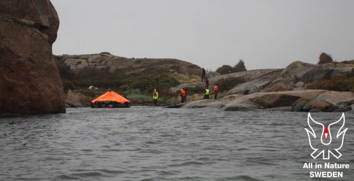 Överlevnadskurs till havs