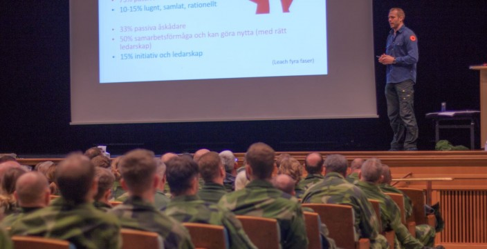 Överlevnadsämnet, överlevnadsföreläsning, annorlunda föreläsning på konferensen