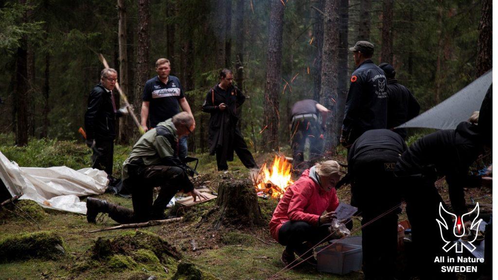 mat i naturen, matlagning över öppen eld, over the fire cooking, utemat
