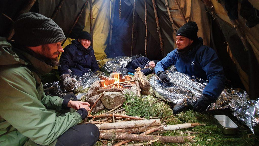 Överlevnadskurs Survival course BAS sweden