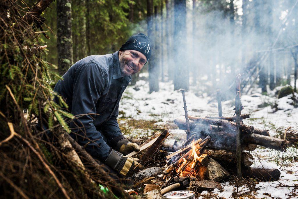 Torbjörn vid elden