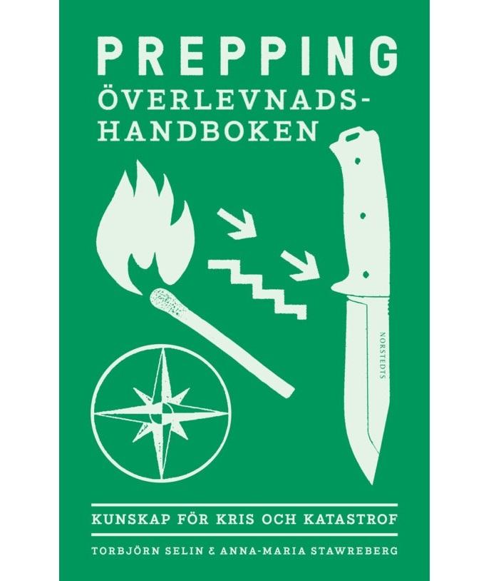 Bred Bokomslaget till Prepping: Överlevnadshandboken
