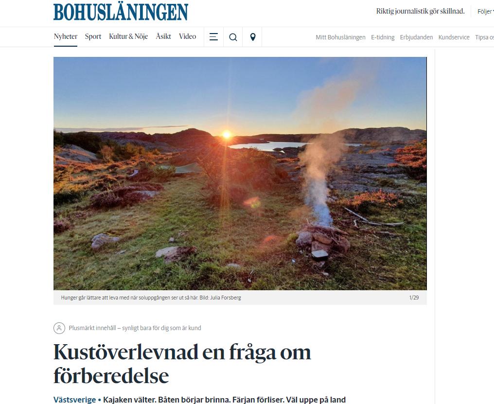 Reportage Bohusläningen Kustöverlevnad