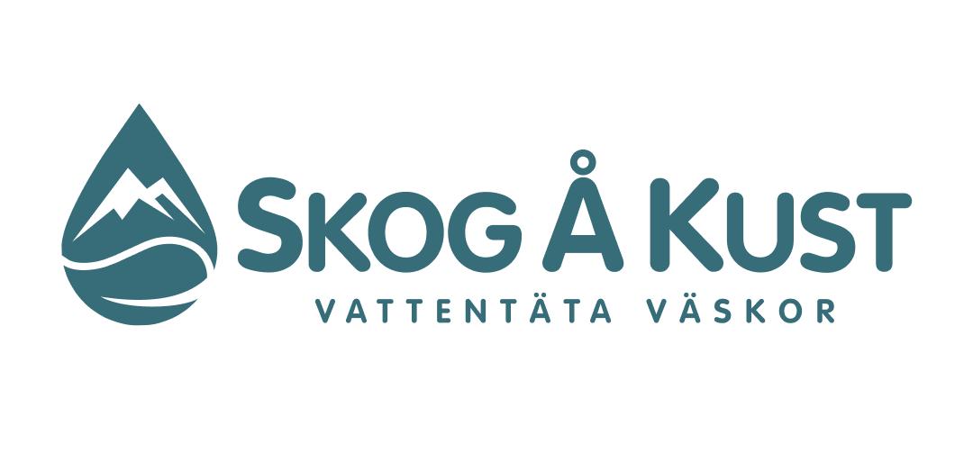 Skog å kust logotype
