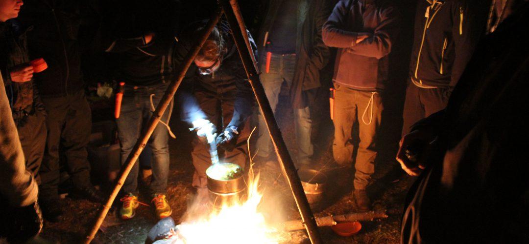 Matlagning vid elden