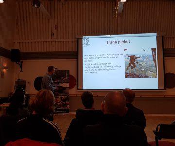 Torbjörn Selin föreläser för Friluftsfrämjandet och ett årsmöte.