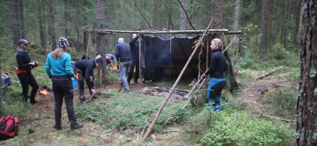 Överlevnadskurs prova på dygn Borås